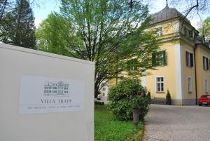 The original Salzburg home of the family von Trapp.