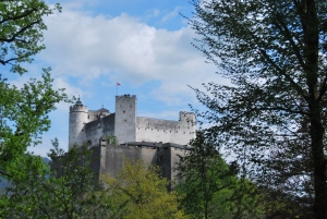 The Hohensalzburg fortress. It's a steep hike to the top.