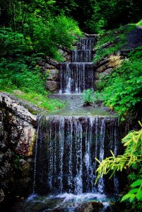There is nothing as refreshing at the end of a summer hike than the sound of flowing water..