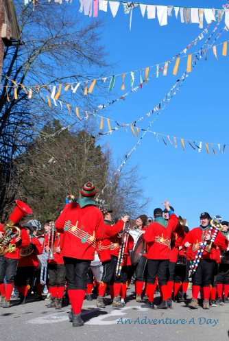 If you are a fan of marching bands, you'll love the Fasching Parade. There are always several bands, playing lively music!