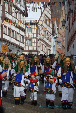 Fasching Parade in Pfullendorf Germany