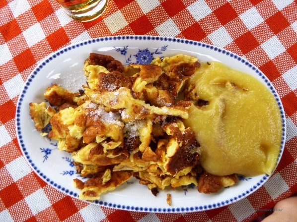 And sometimes, in my happy place, there's Kaiserschmarrn.