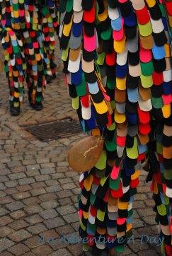 The Hänsele carry balloons made of pig bladders.