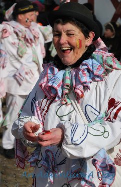 Vibrant smiles everywhere you turn during Fasching Season