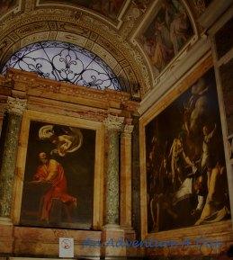 The work of Carvaggio in San Luigi dei Francesi