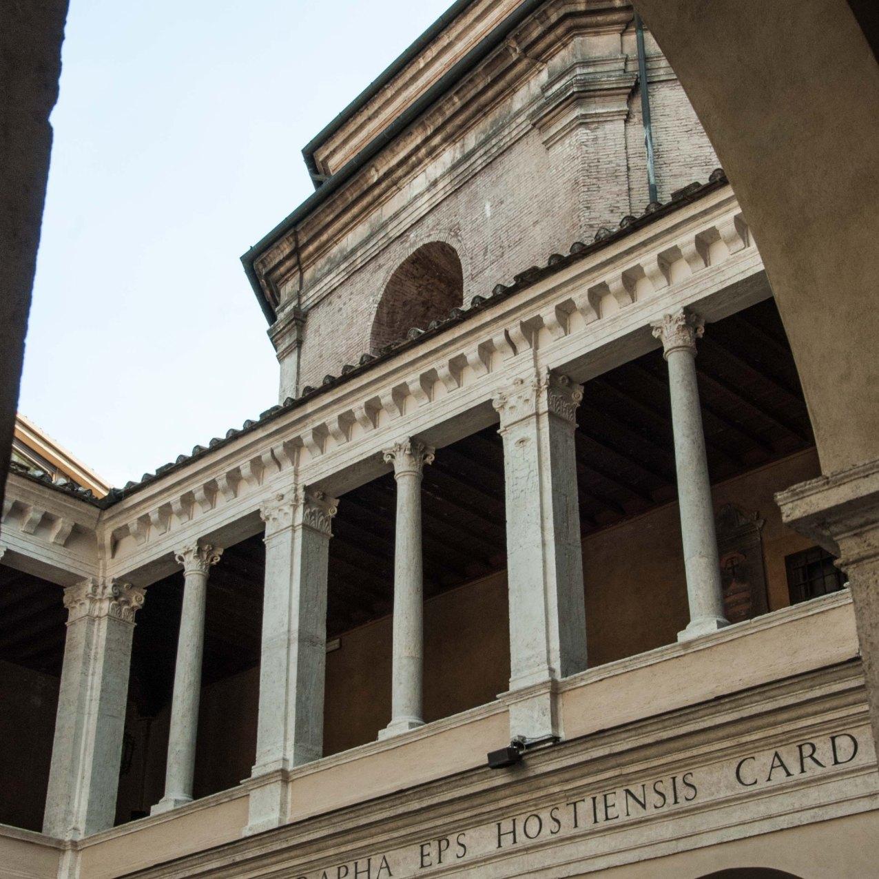 Courtyard of the Chiostro del Bramante