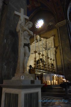 Michalangelo and Saint Catherine in Santa Maria Sopra Minerva