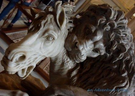 statues in Vatican Museum