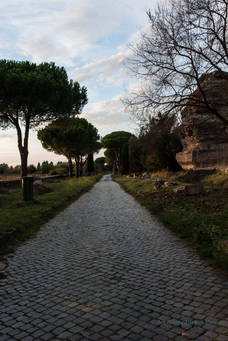 The Appian Way is a beautiful walk, and even with traffic and tourists, it gives you space to breathe.