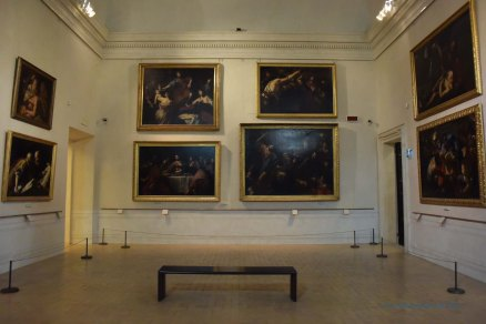 It's not always possible to find a green space. I love to visit the smaller galleries and museums in Rome, where you are often the only visitor in the room. It is an amazing experience to sit in the stillness and admire the art around you.