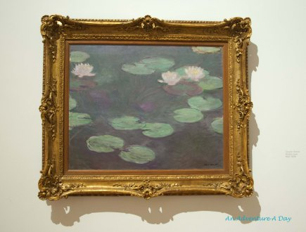 Claude Monet on display at the Museum of Modern Art in Rome