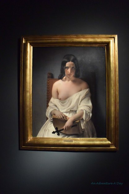 This work by artist Francesco Hayez represents Italy, in defeat following a defeat by the Hapsburg Empire.