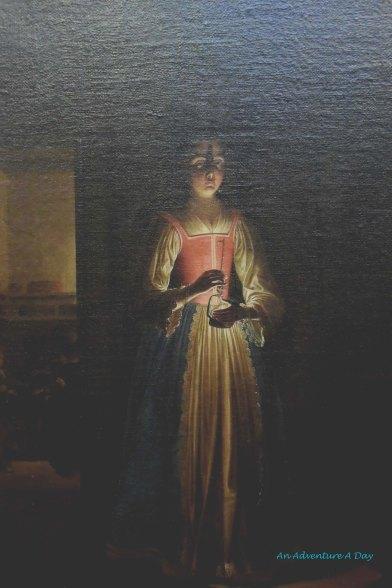 Illuminated by Candle Light
