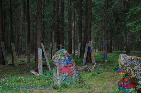 Painting Party in the Woods?