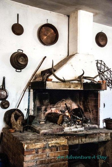 Farmhouse kitchen on the Appia Antica