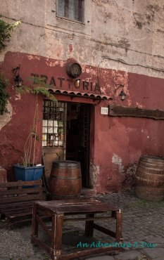 Trattoria on the Appia Antica