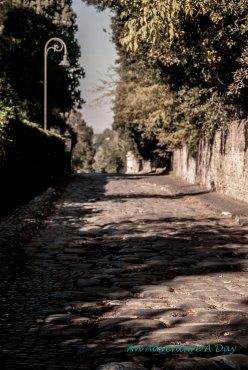 Original Stones along the Appia Antica