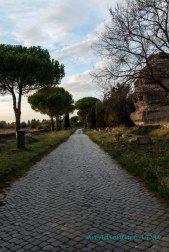 Tombs along the Appia Antica