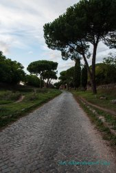 The Appia Antica Stretches ahead.