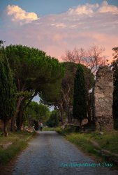 Sunset on the Appia Antica