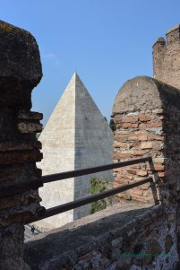 A glimpse of the pyramid