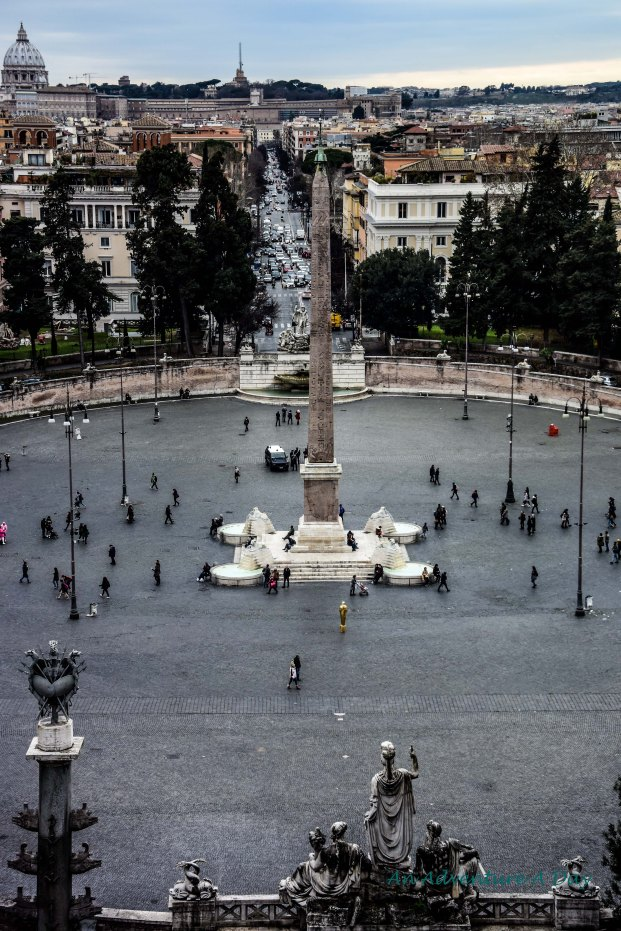 fountains and obelisk