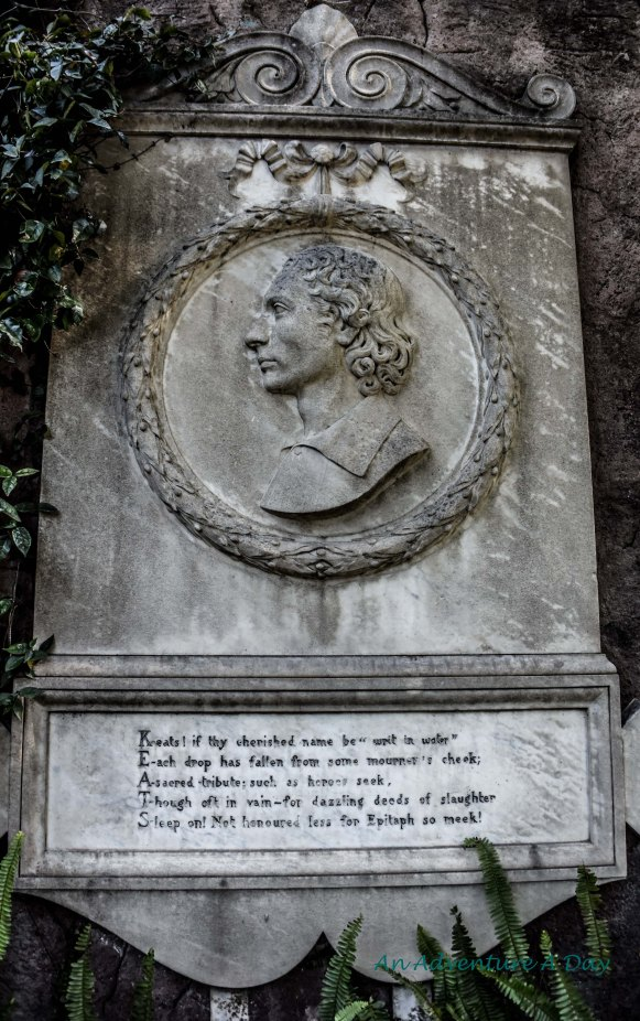 monument to keats