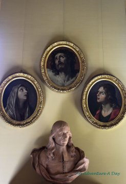 A trio of portraits by Guido Reni