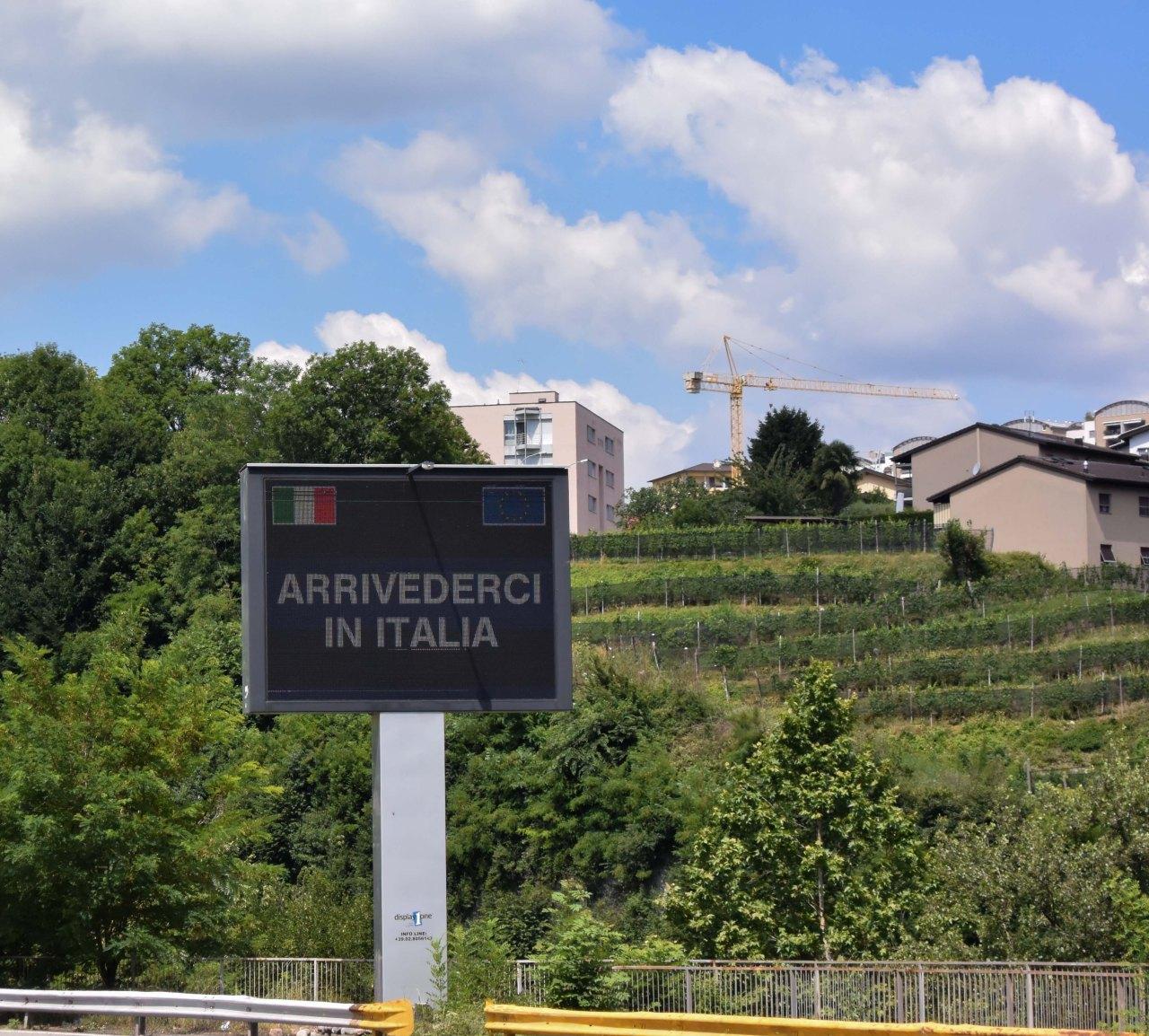 Arrivederci Italia